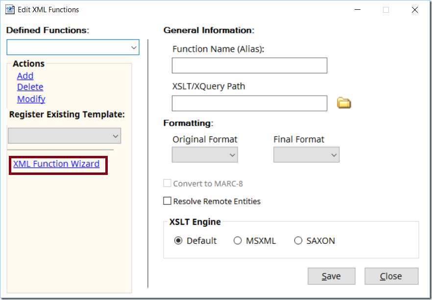 MarcEdit 7 Alpha: the XML/JSON Profiler – Terry's Worklog